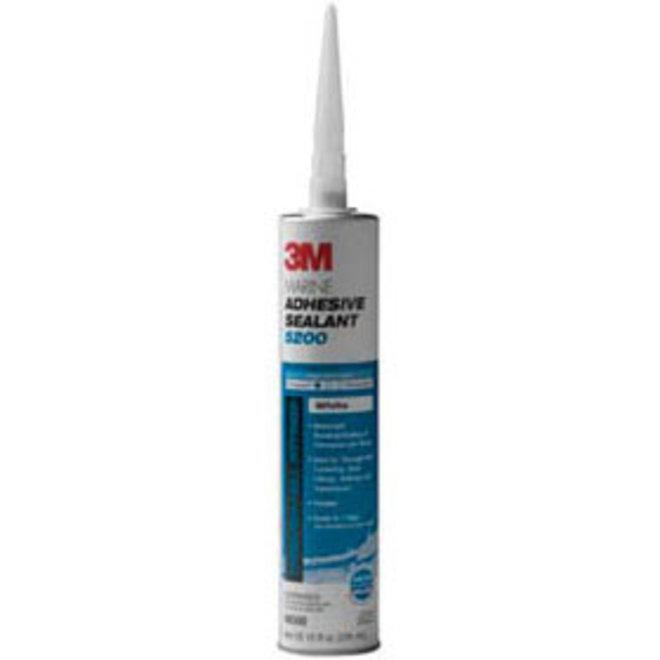 3M 5200 Standard Adhesive Sealant 10oz Cart WHITE