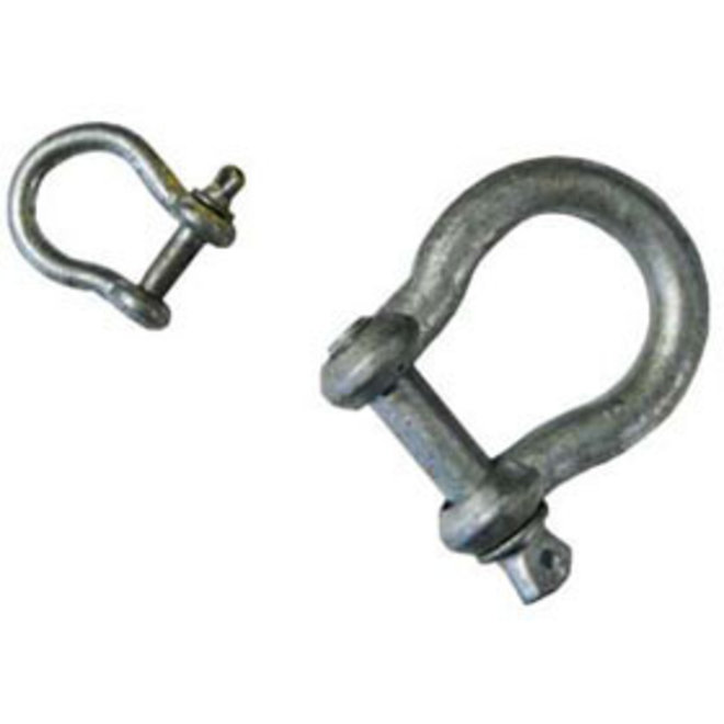 Anchor Shackle 1/4in Galvanized