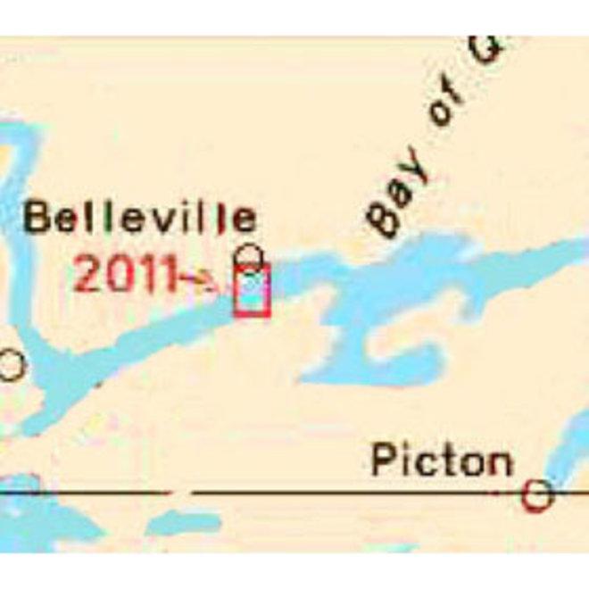 Belleville Harbour Chart