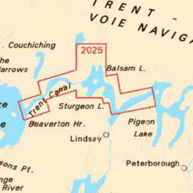 Bobcaygeon to Lake Simcoe Chart