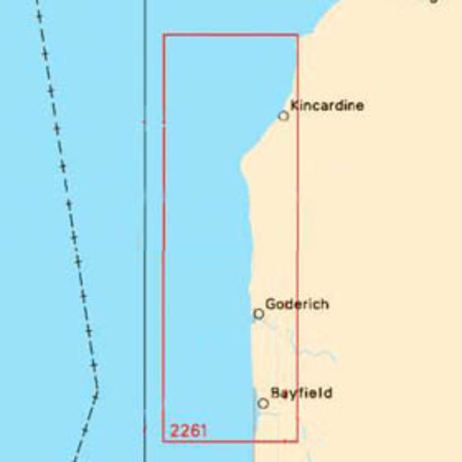 Bayfield to Douglas Point Chart