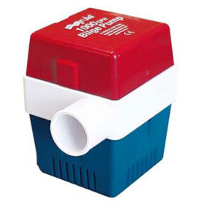 Bilge Pump 1000 Manual Square Base 1-1/8 Hose