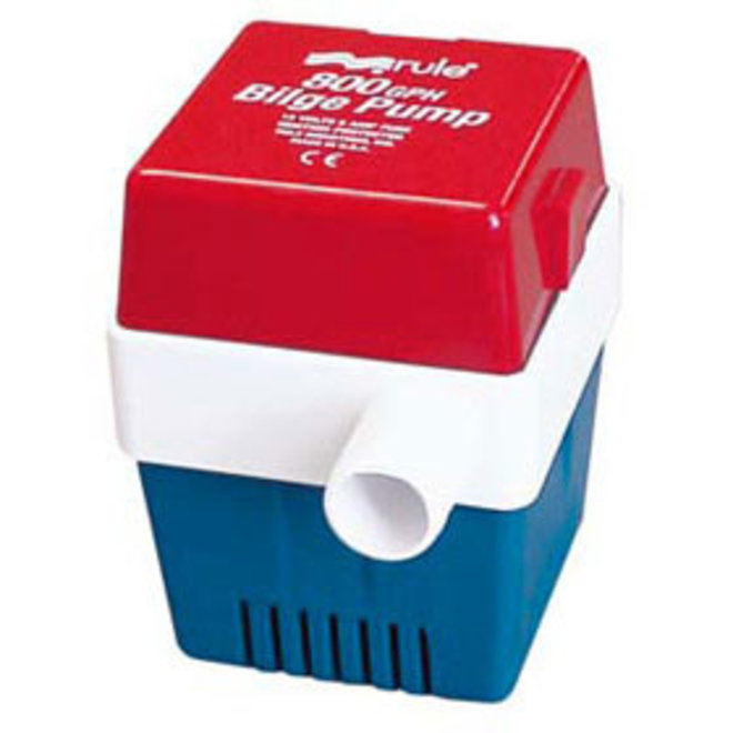 Bilge Pump 800 Manual Square Base 3/4 Hose