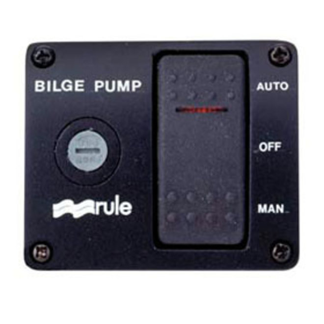 Bilge Switch 3 Way with Light Model 43