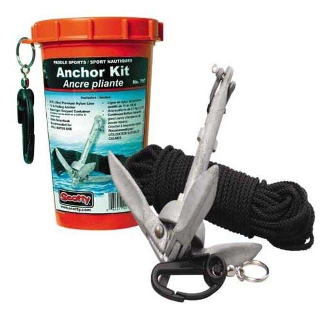Anchor Pk 1.5 lb Anchor & Line Scotty