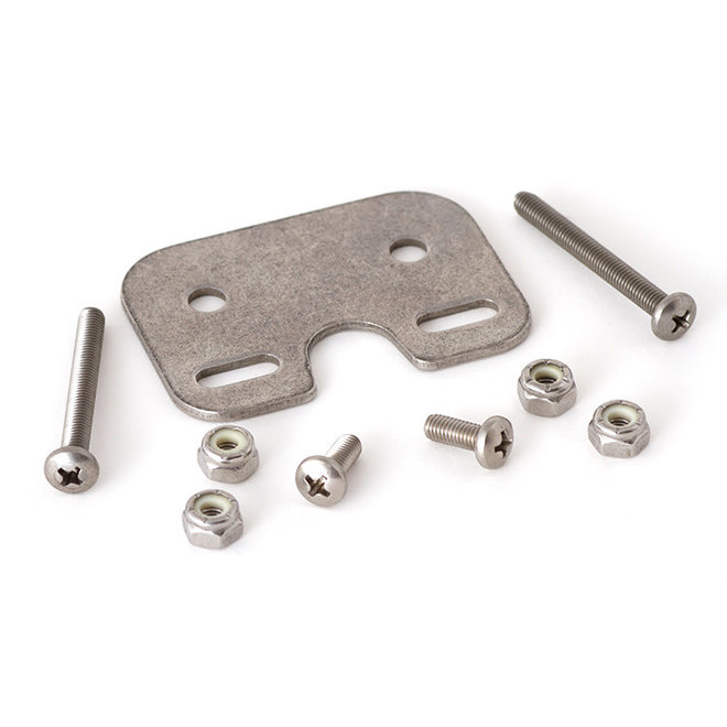 Adapter Plate w Hardware for Harken Cam