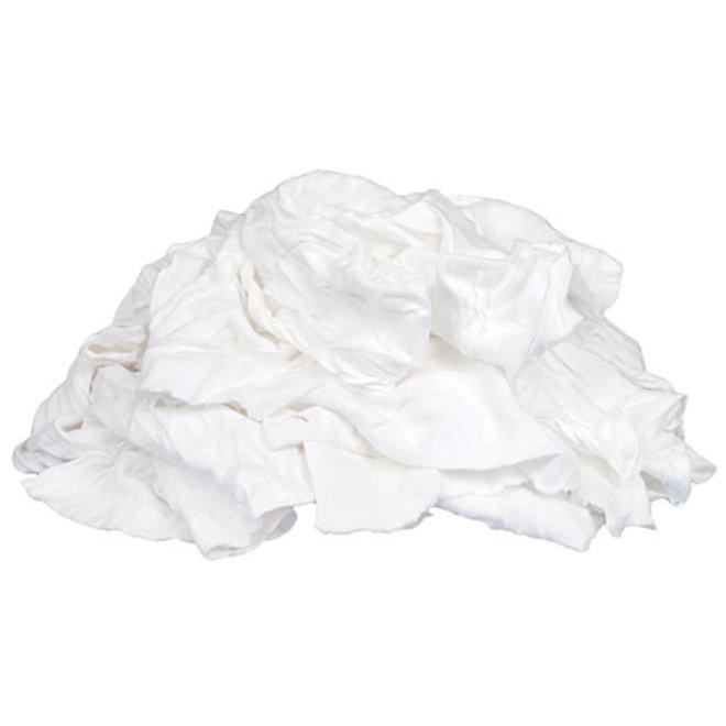 4lb Box of Rags White