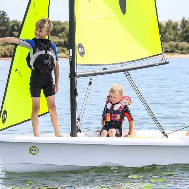 RS Zest Sailboat with Jib Kit