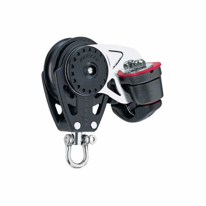 40mm Carbo Single Block with Swivel and Cleat