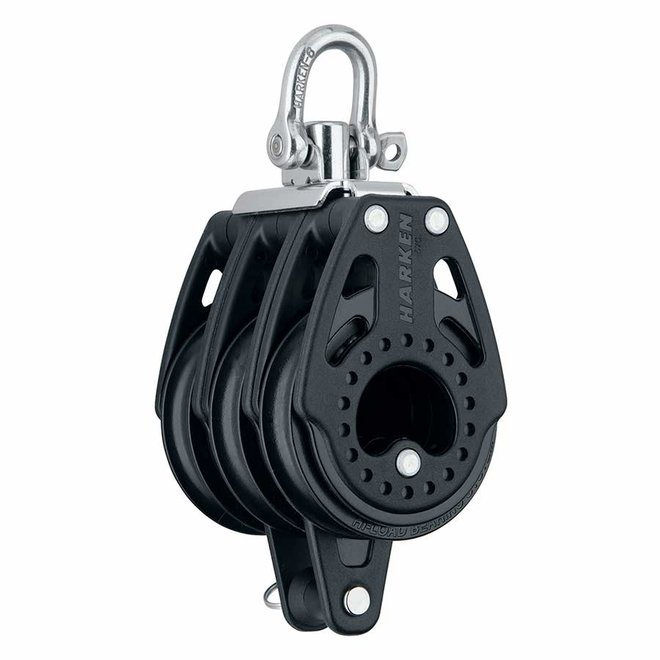 57mm Carbo Triple Block with Becket and Swivel
