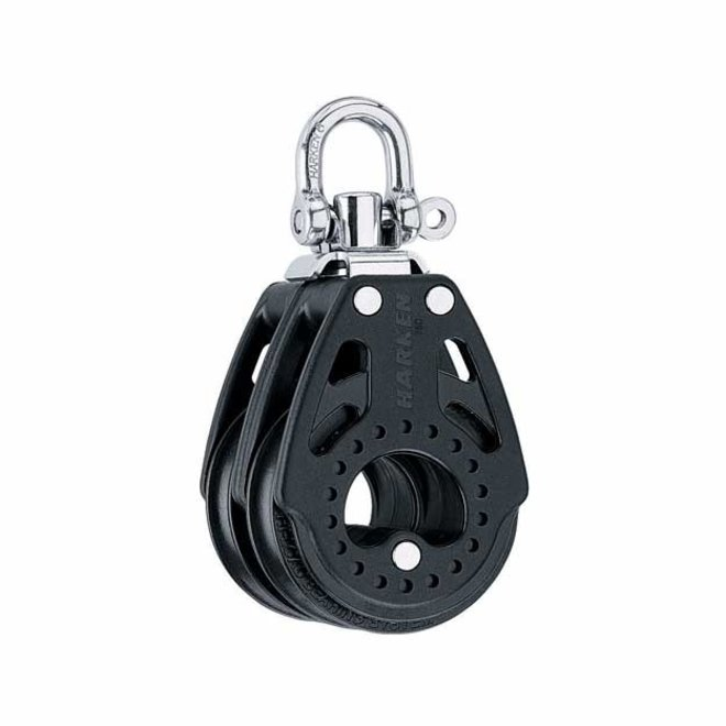 75mm Carbo Double Block with Swivel