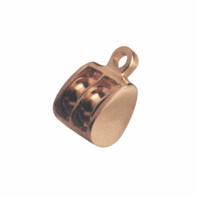 Double Block Polished Brass WL 500lbs