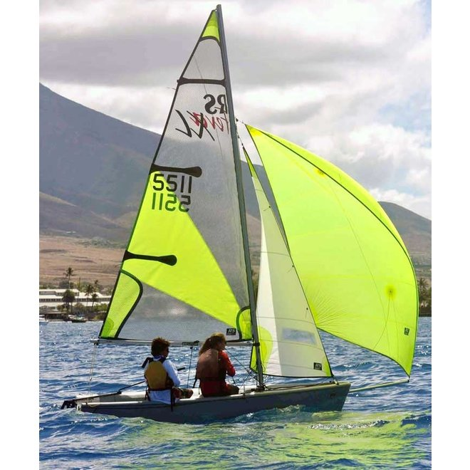 RS Feva Sailboat w Gennaker