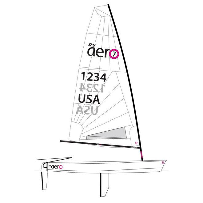 RS Aero Sailboat