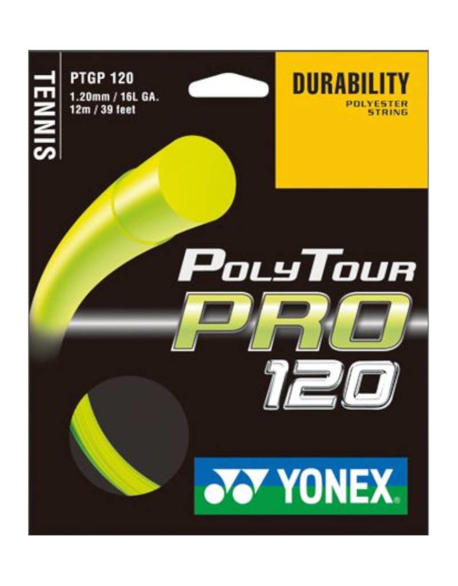 YONEX POLY TOUR PRO 120 FULL SET (YELLOW)