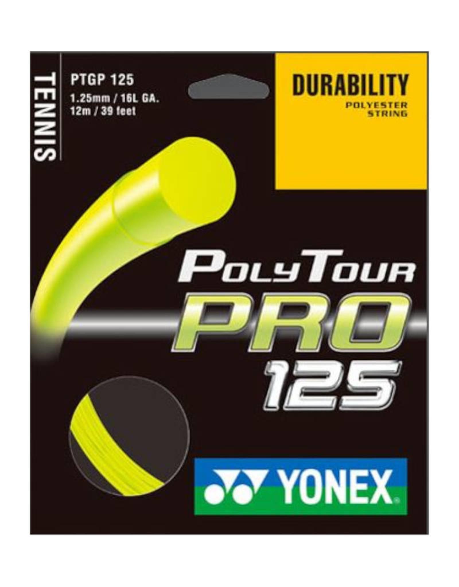 YONEX POLY TOUR PRO 125 FULL SET (YELLOW)