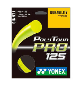 YONEX POLY TOUR PRO 125 FULL SET (YELLOW)