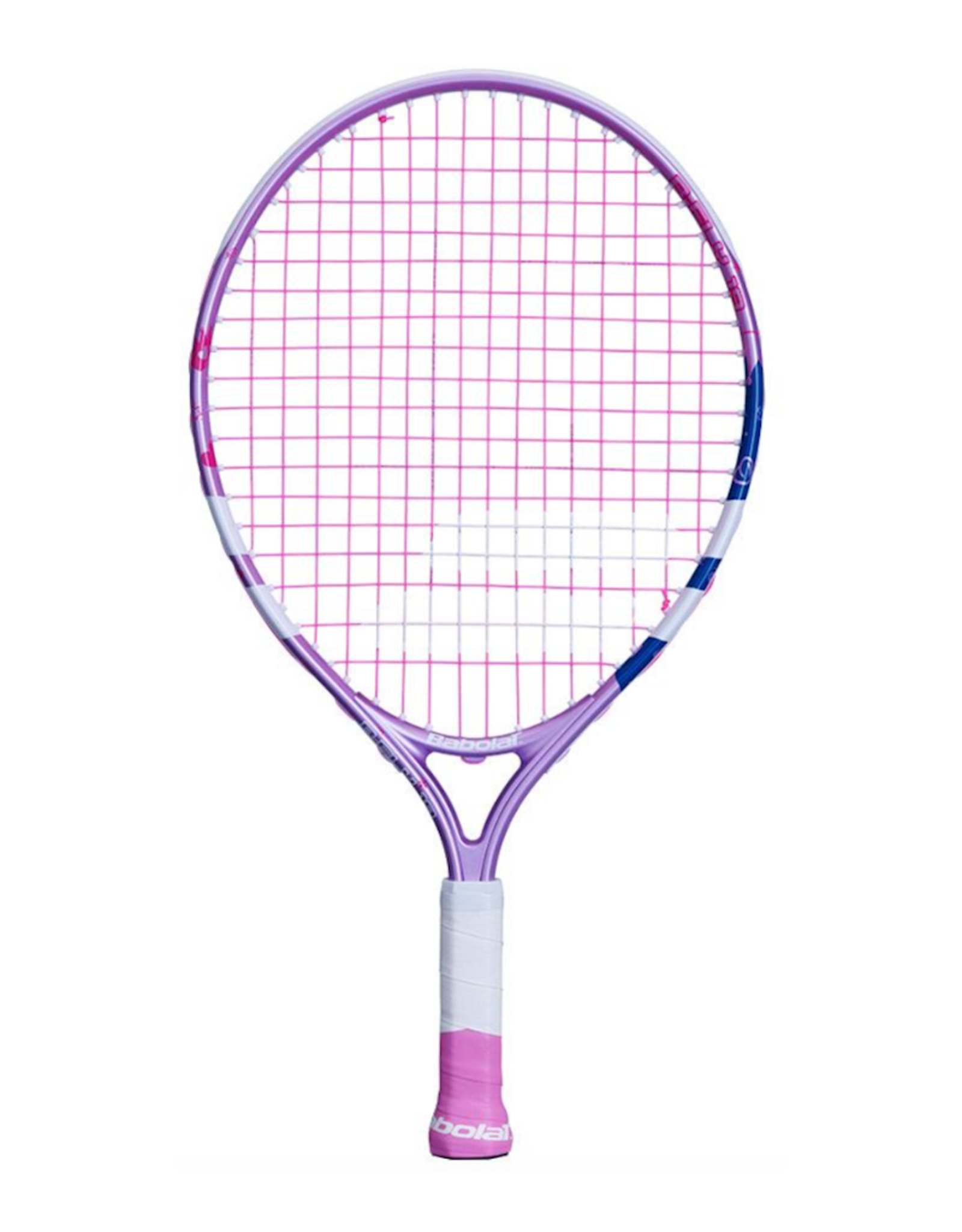 BABOLAT B FLY JR 19: WHITE/PURPLE