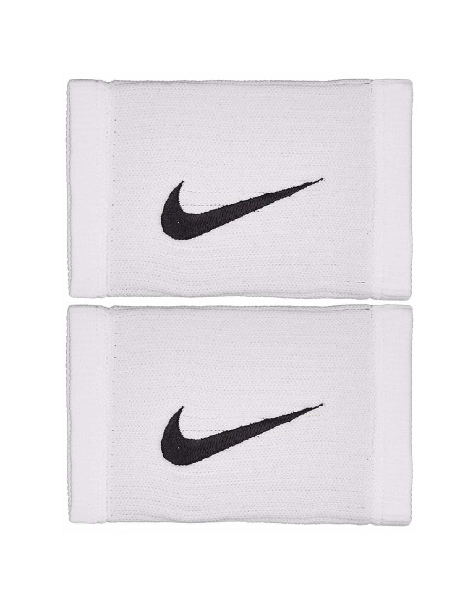 NIKE DRI-FIT REVEAL DOUBLEWIDE WRISTBAND WHITE