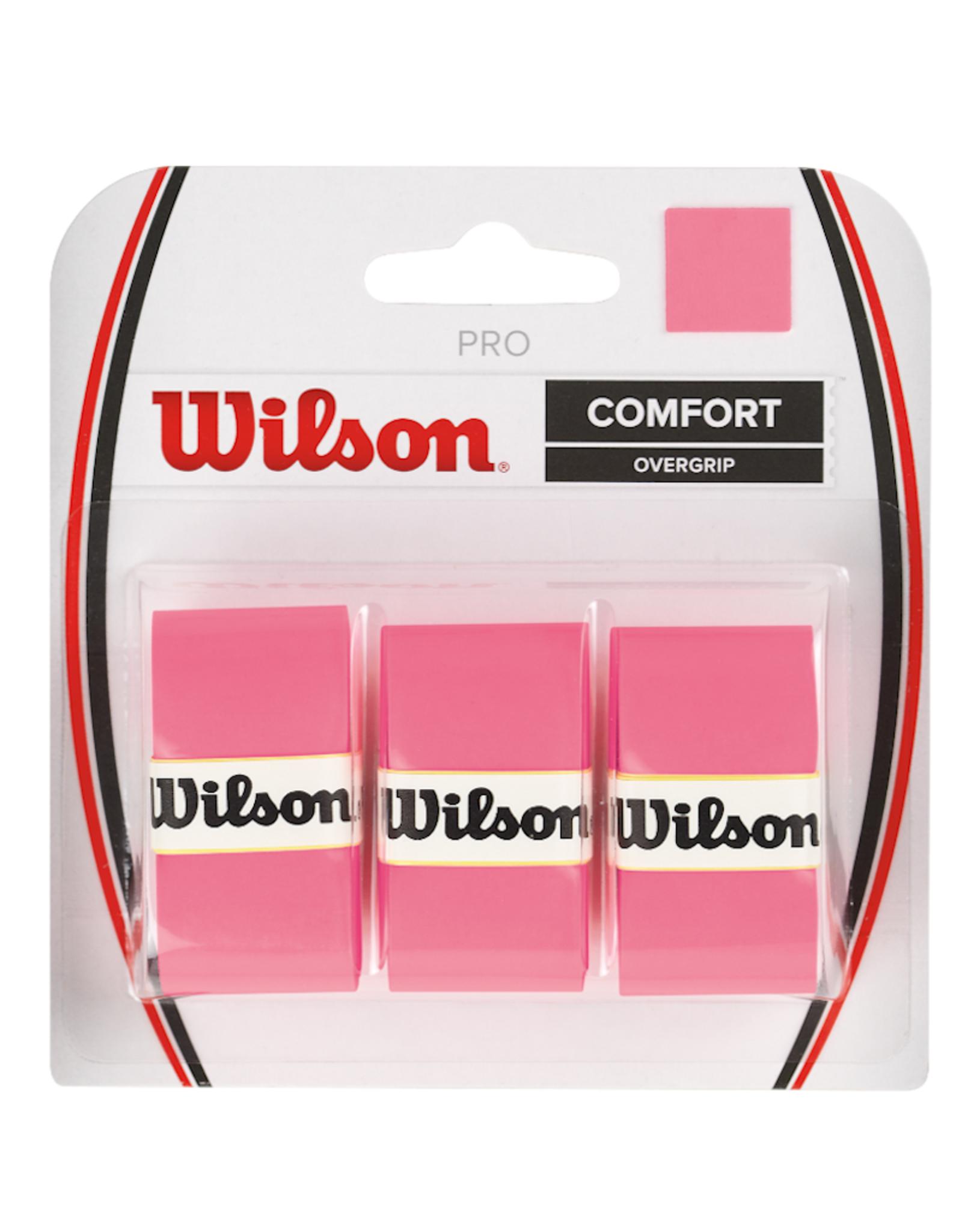 WILSON PRO OVERGRIP PINK