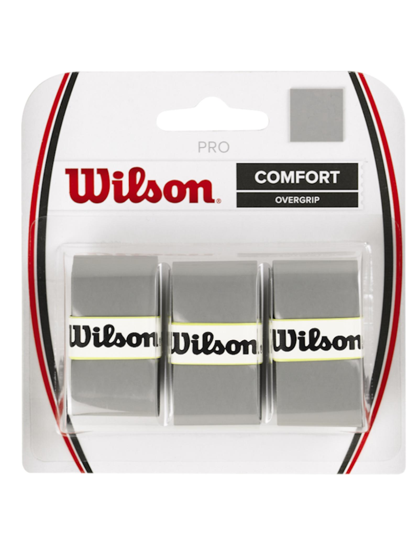 WILSON PRO OVERGRIP SILVER