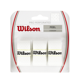 WILSON PRO PERFORATED OVERGRIP WHITE