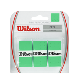 WILSON PRO PERFORATED OVERGRIP GREEN