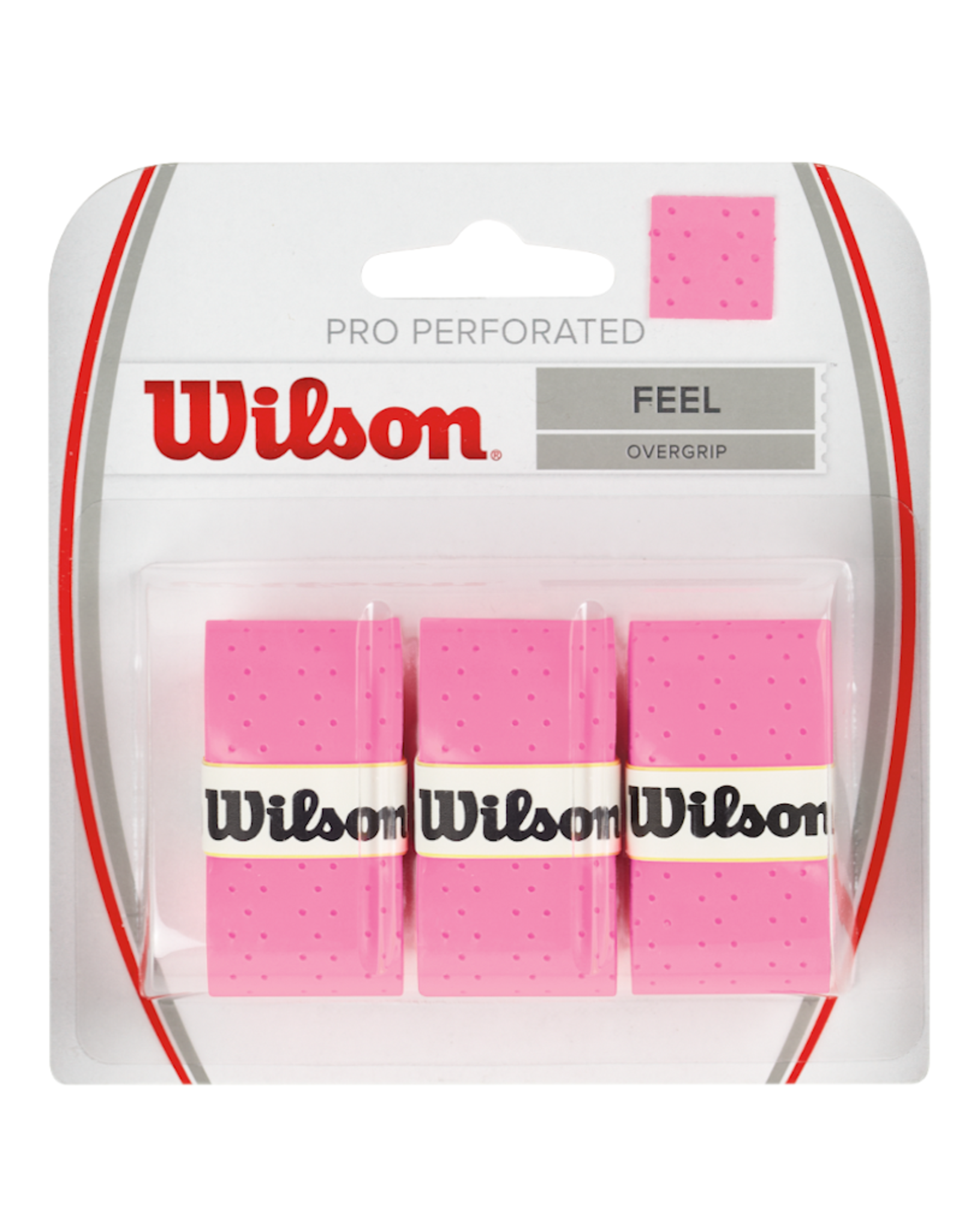 WILSON PRO PERFORATED OVERGRIP PINK