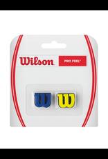 WILSON PRO FEEL DAMPENER BLUE/YELLOW