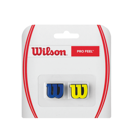 WILSON PRO FEEL DAMPENER BLUE/YELLOW