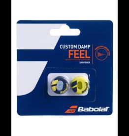 BABOLAT CUSTOM DAMP BLACK/YELLOW
