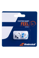 BABOLAT CUSTOM DAMP WHITE/BLUE