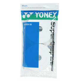 YONEX SUPER GRAP 30 PACK WHITE