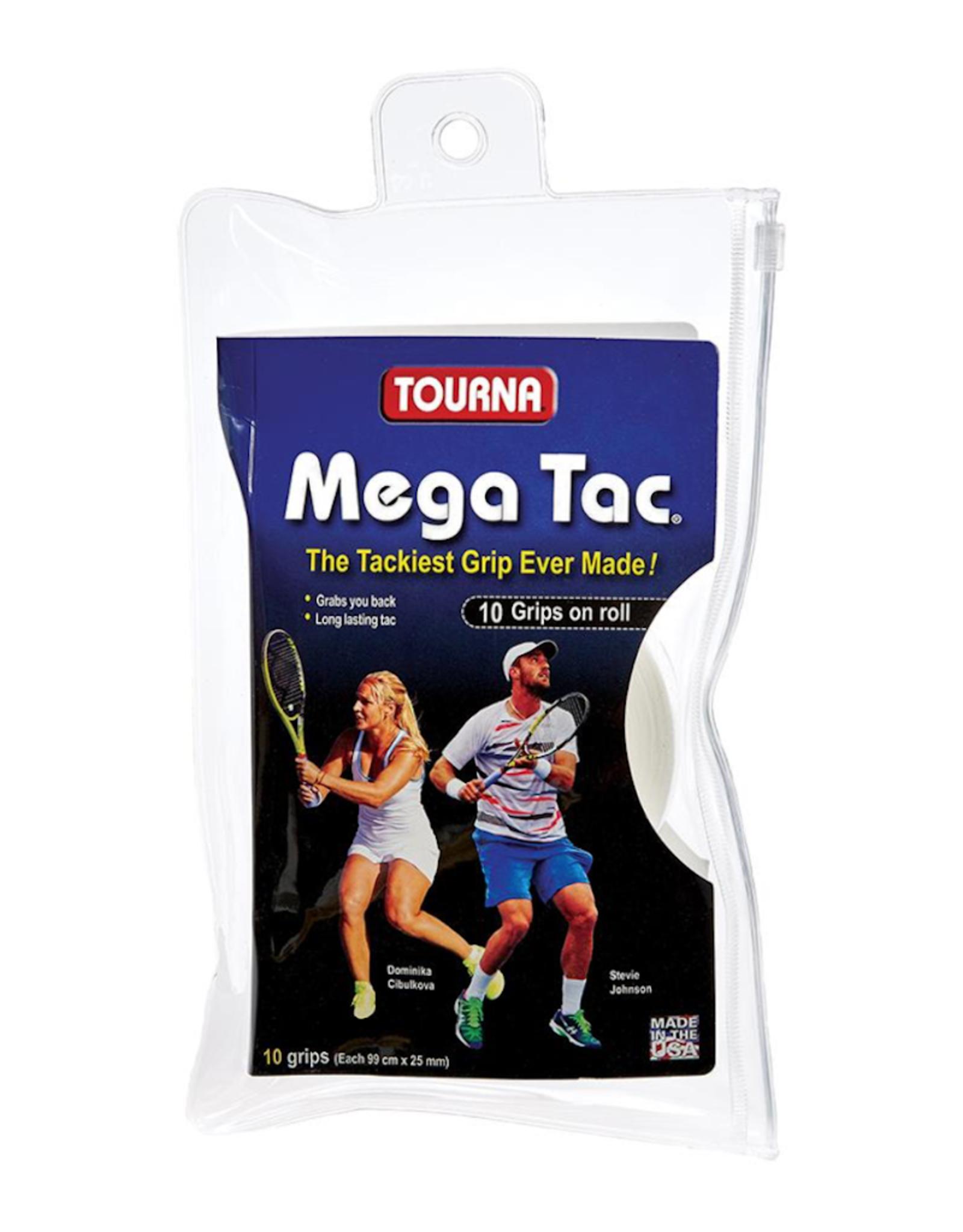 TOURNA MEGA TAC - 10 PACK WHITE