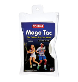 TOURNA MEGA TAC - 10 PACK WHITE