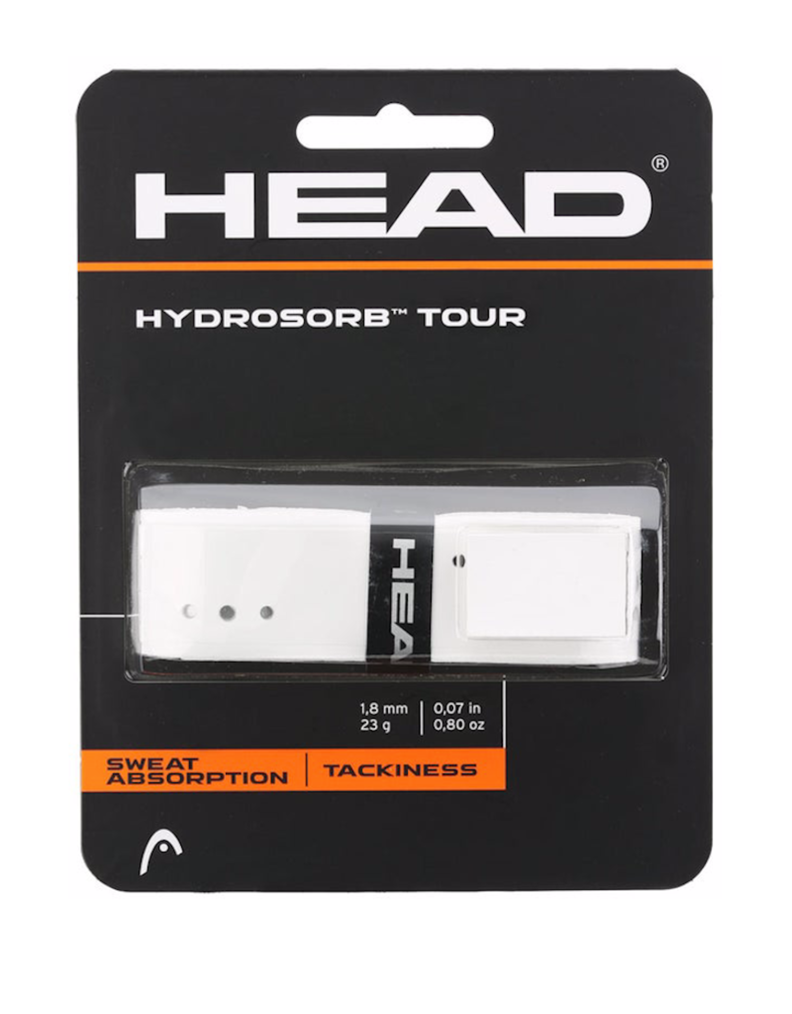 HEAD HYDROSORB TOUR REPLACEMENT GRIP WHITE