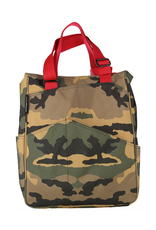 MAGGIE MATHER TENNIS ZIPPER TOTE: CAMO