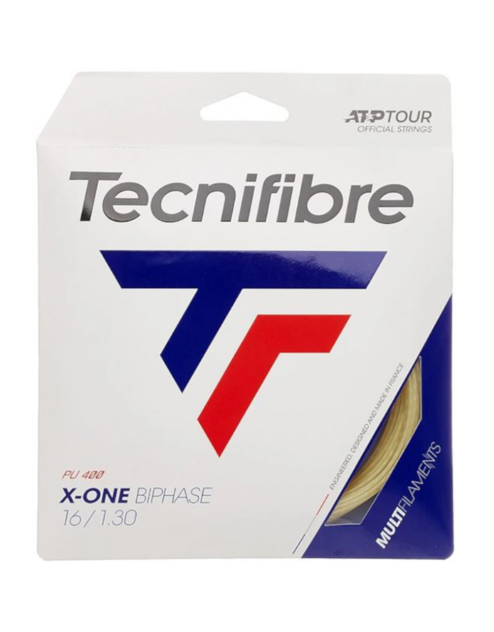 TECNIFIBRE X-ONE BIPHASE 16 FULL SET (NATURAL)