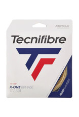 TECNIFIBRE X-ONE BIPHASE 17 FULL SET (NATURAL)
