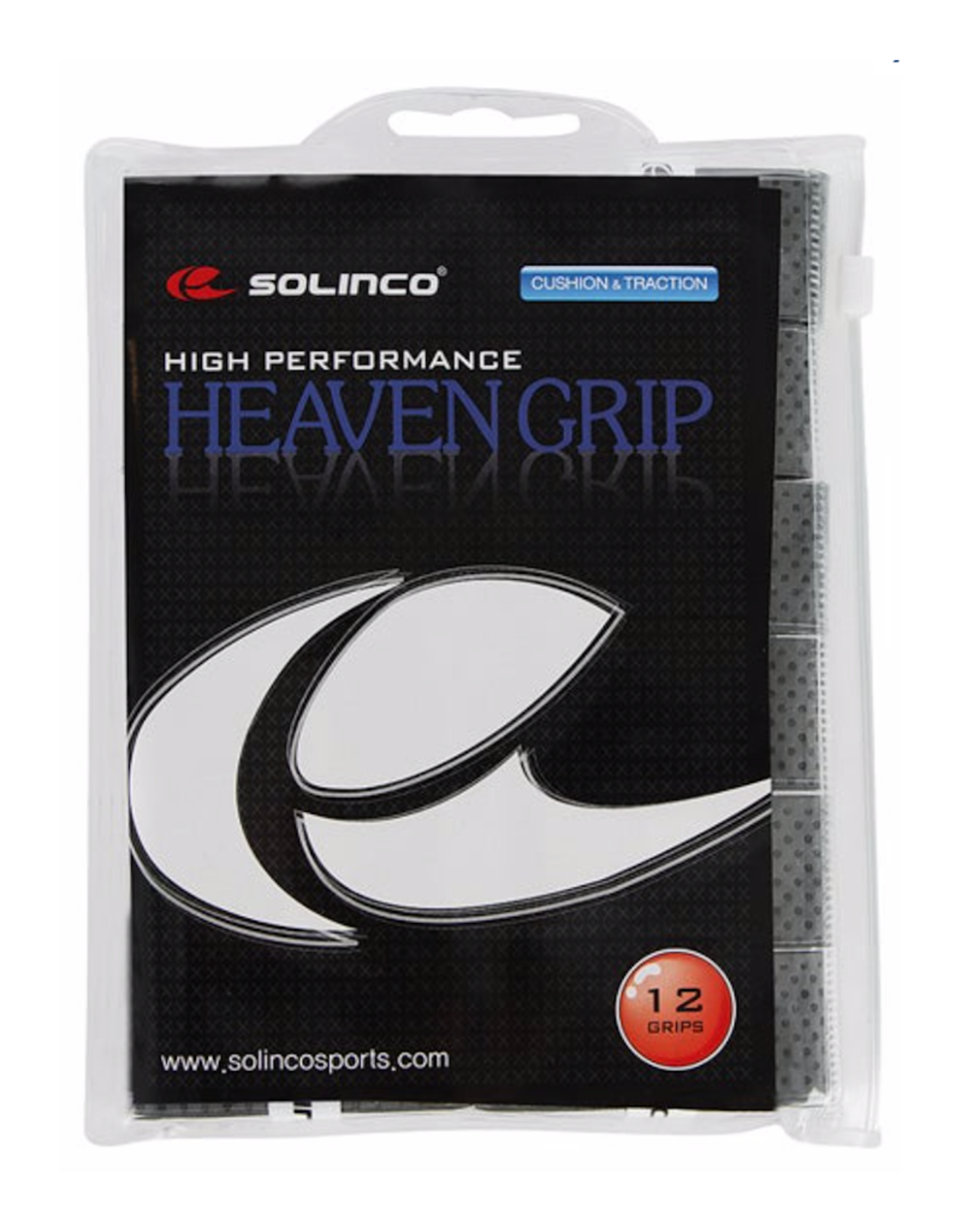 SOLINCO Heaven Overgrip 12 Pack Gray