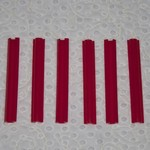 """Red Snappers Red snapper 6"""" (pkg 6)"""
