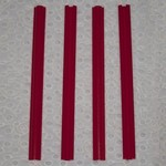 """Red Snappers Red Snapper 12"""" set of 4 clamps"""