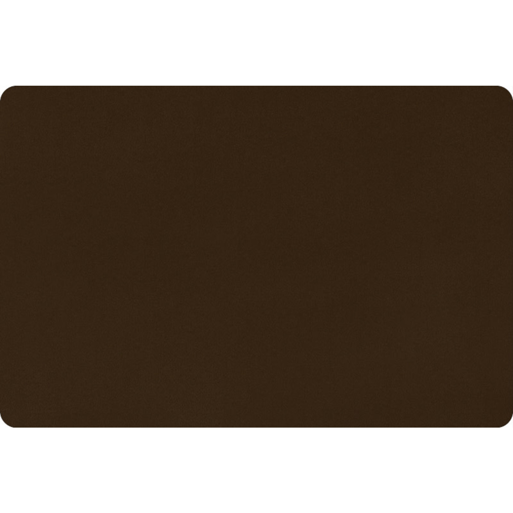 """Shannon Fabrics Minky, Extra Wide Solid Cuddle3, 90"""" Brown, (by the inch)"""