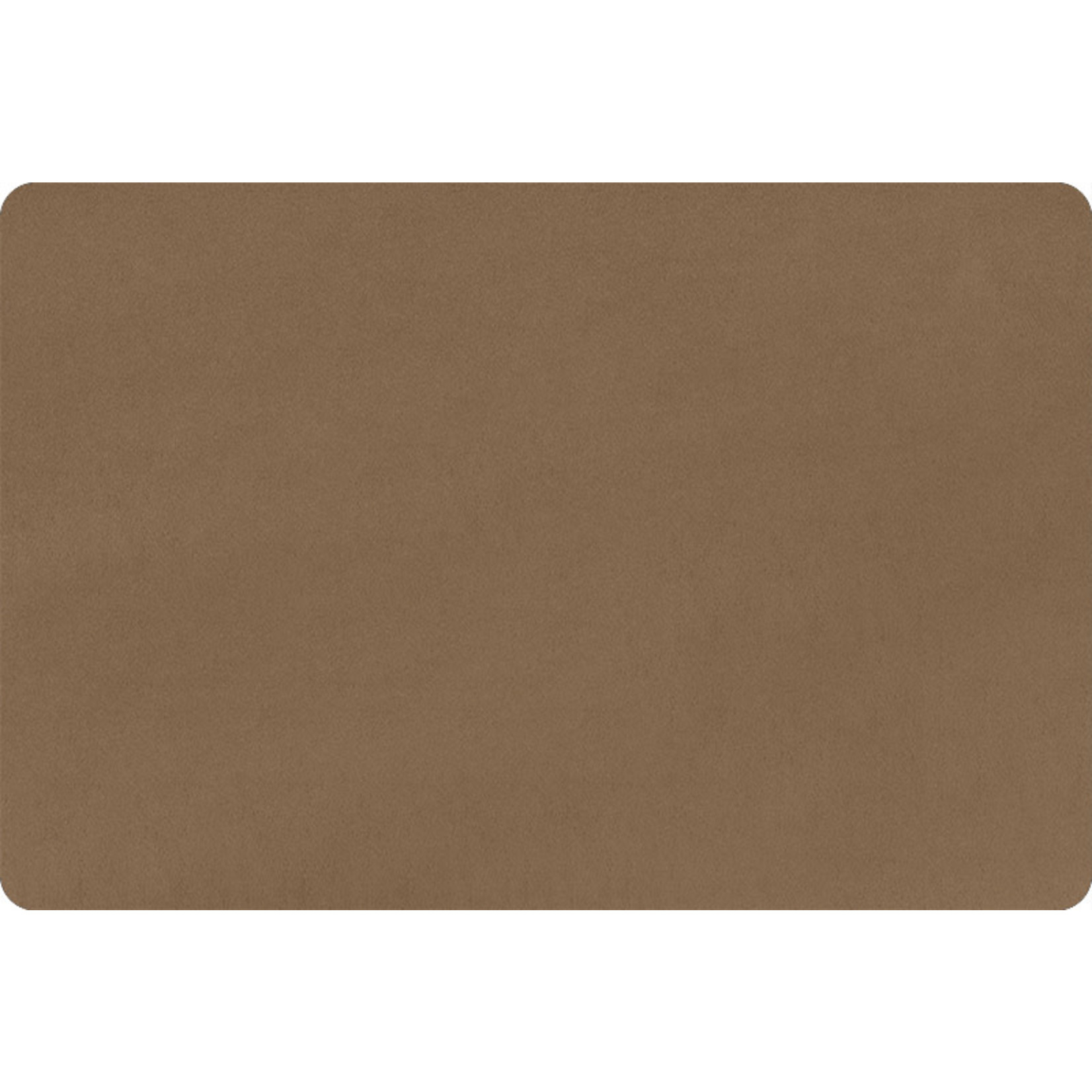 """Shannon Fabrics Minky, Extra Wide Solid Cuddle3, 90"""" Cocoa, (by the inch)"""