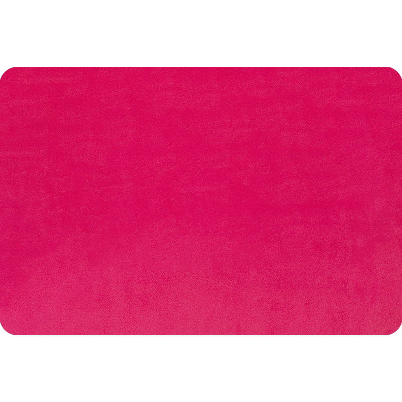 """Shannon Fabrics Minky, Extra Wide Solid Cuddle3, 90"""" Fuchsia, (by the inch)"""