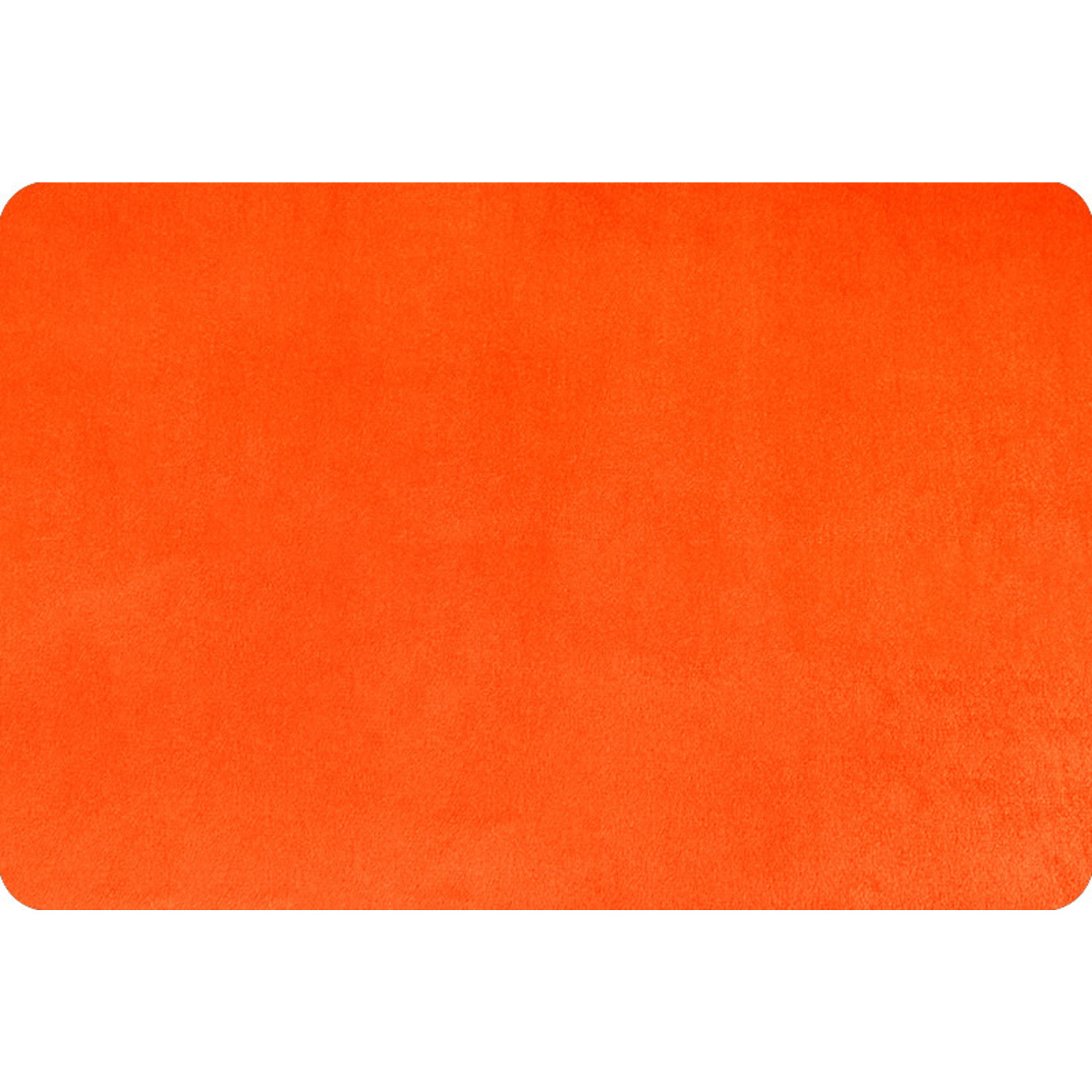 """Shannon Fabrics Minky, Extra Wide Solid Cuddle3, 90"""" Mandarin, (by the inch)"""
