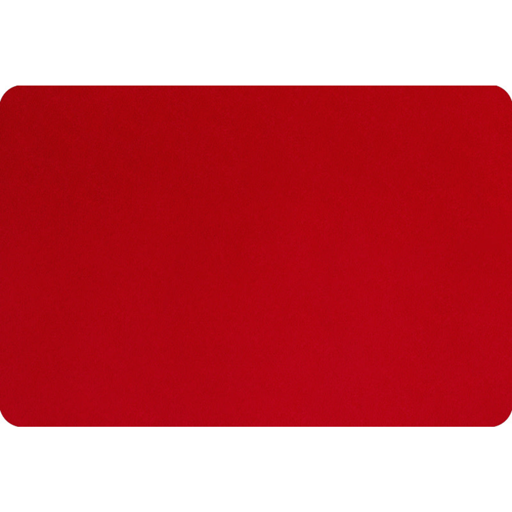 """Shannon Fabrics Minky, Extra Wide Solid Cuddle3, 90"""" Scarlet, (by the inch)"""
