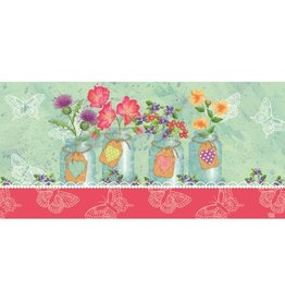 Wild Rose Mason Jars Switch Mat Insert
