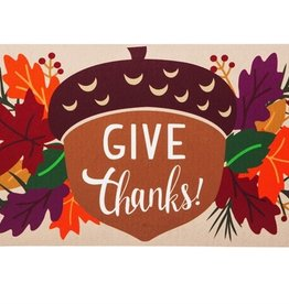 Give Thanks Acorn Switch Mat Insert