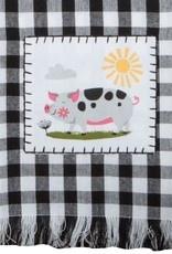 Farm Charm Pig Tea Towel